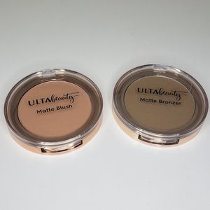 Ulta beauty matte blush and bronzer
